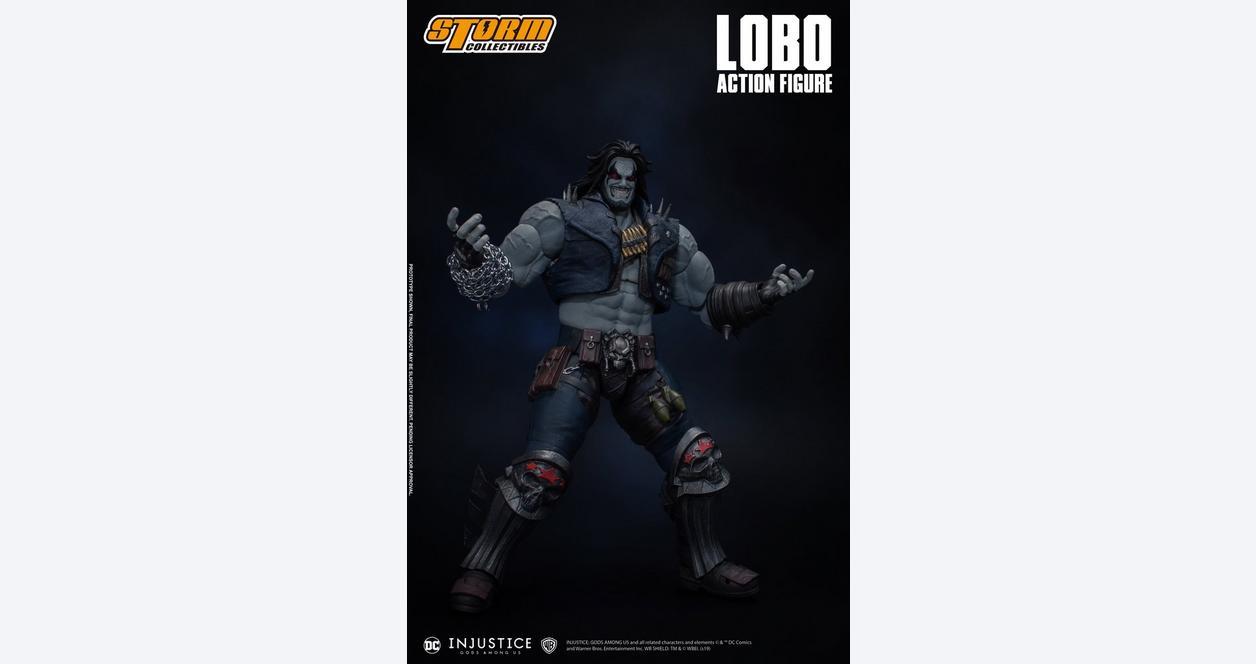 Injustice: Gods Among Us Lobo Action Figure