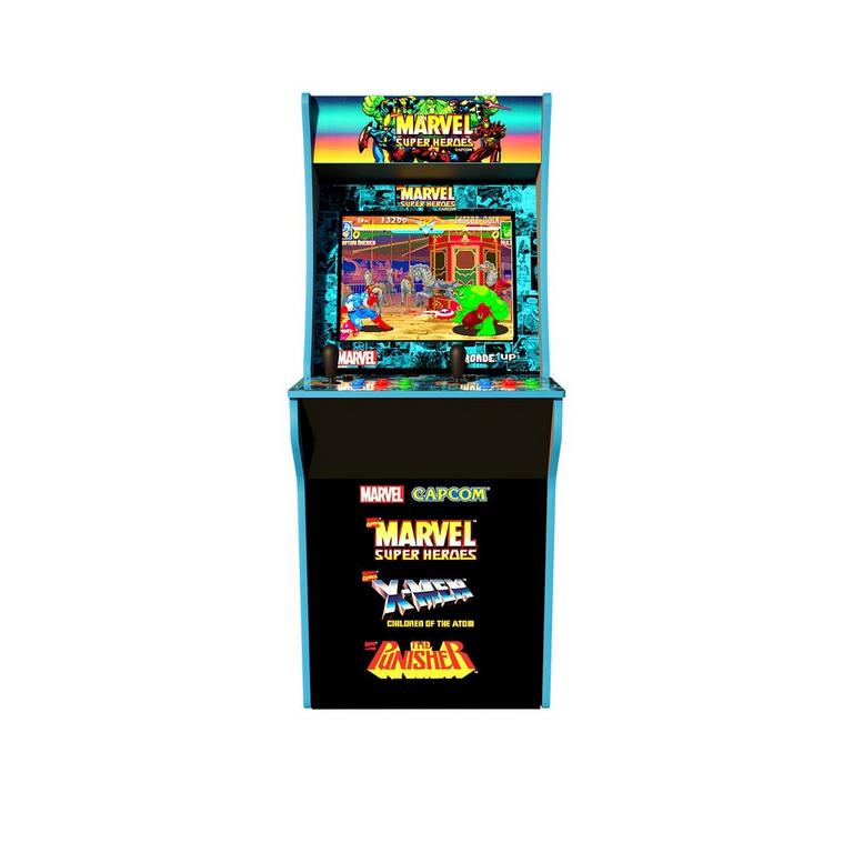 Marvel Super Heroes Arcade Cabinet Without Riser