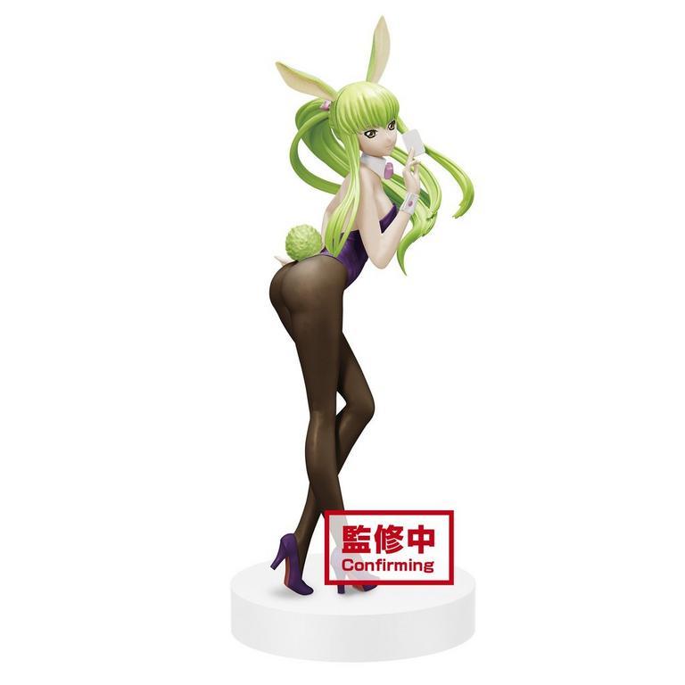 Code Geass: Lelouch of the Rebellion C.C. Bunny Version Espresto Statue
