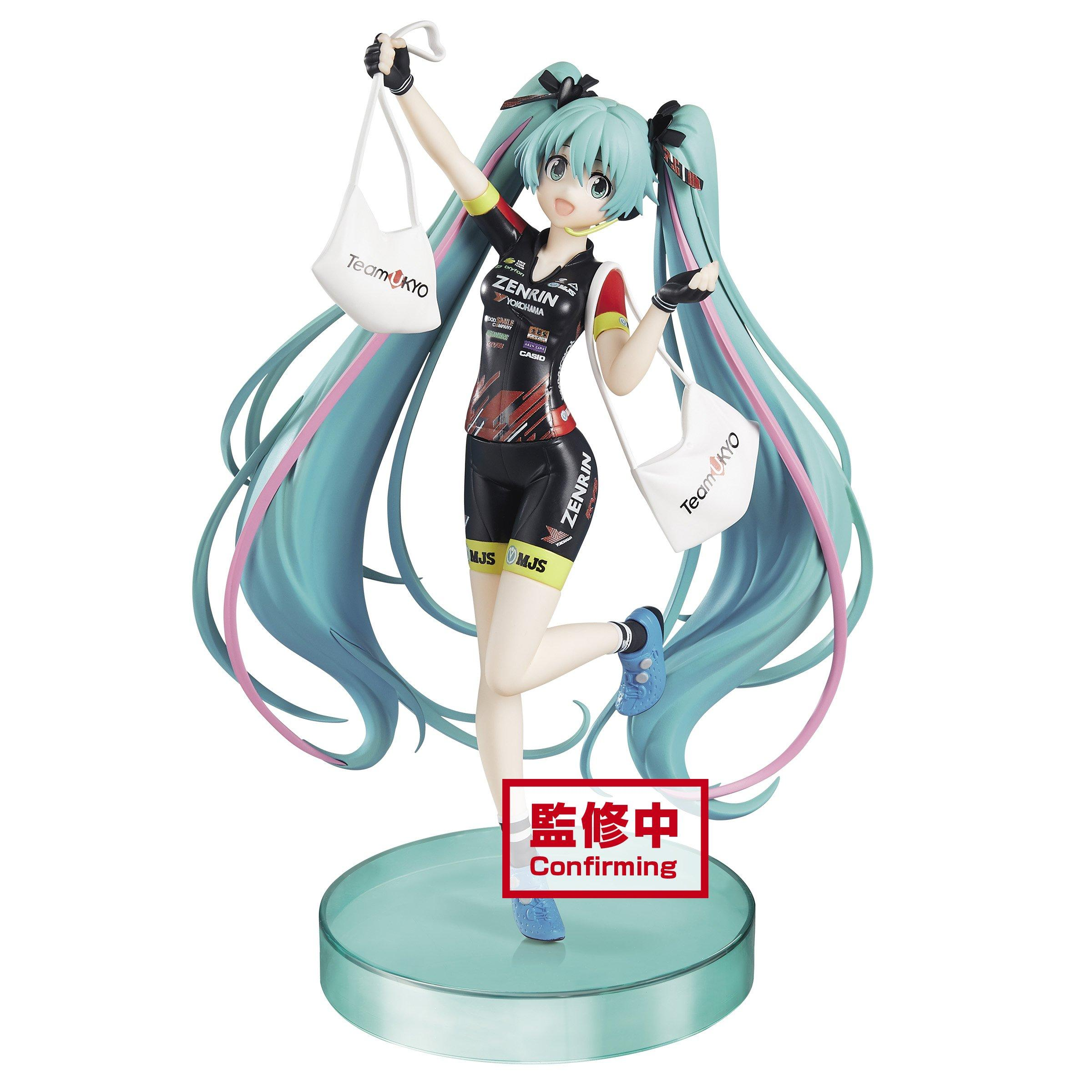 Vocaloid Hatsune Miku ESPRESTO est Figure Toy Racing Miku 2019 Team UKYO BP81917