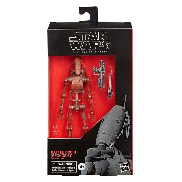 Star Wars Episode II: Attack of the Clones Battle Droid The Black Series Action Figure