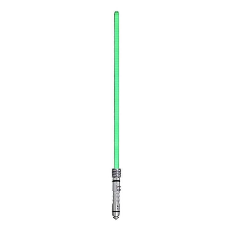 Star Wars Episode II: Attack of the Clones Kit Fisto The Black Series Force FX Lightsaber