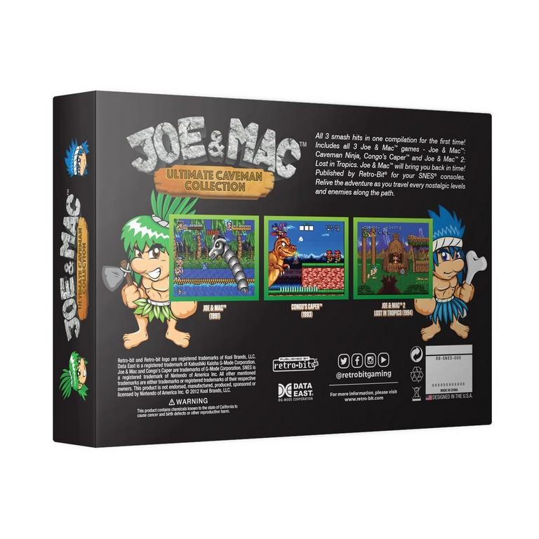 Joe and Mac Ultimate Caveman Collection
