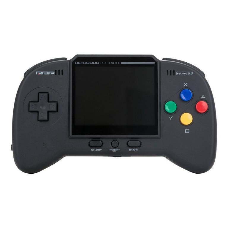 NES and SNES RetroDuo Protable Handheld Console