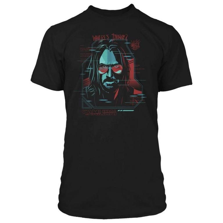 Cyberpunk 2077 Where's Johnny? T-Shirt