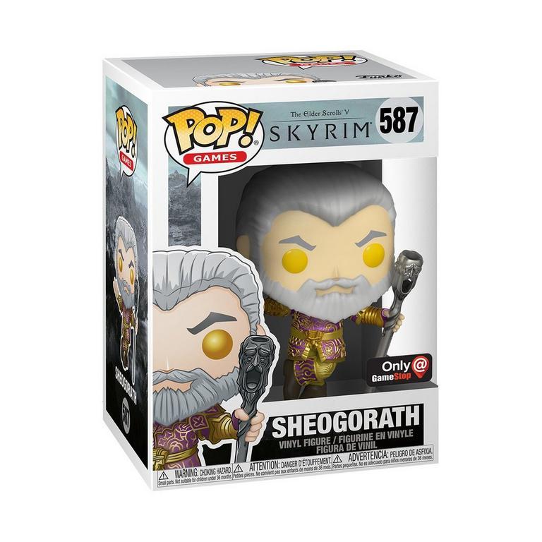 POP! Games: The Elder Scrolls V: Skyrim Sheogorath with Wabbajack Only at GameStop