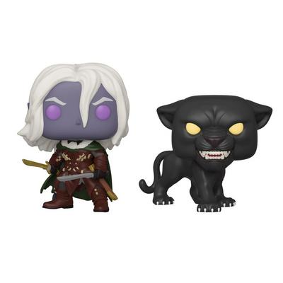 POP! Games: Dungeons and Dragons Drizzt Do'Urden with Guenhwyvar 2 Pack Only at GameStop