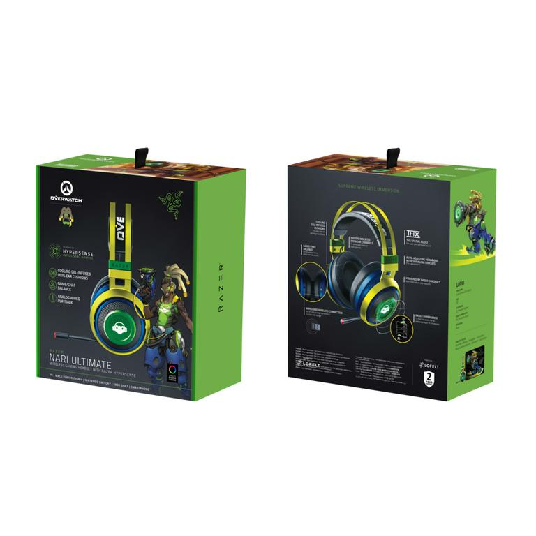 Nari Ultimate Overwatch Lucio Edition Wireless Gaming Headset