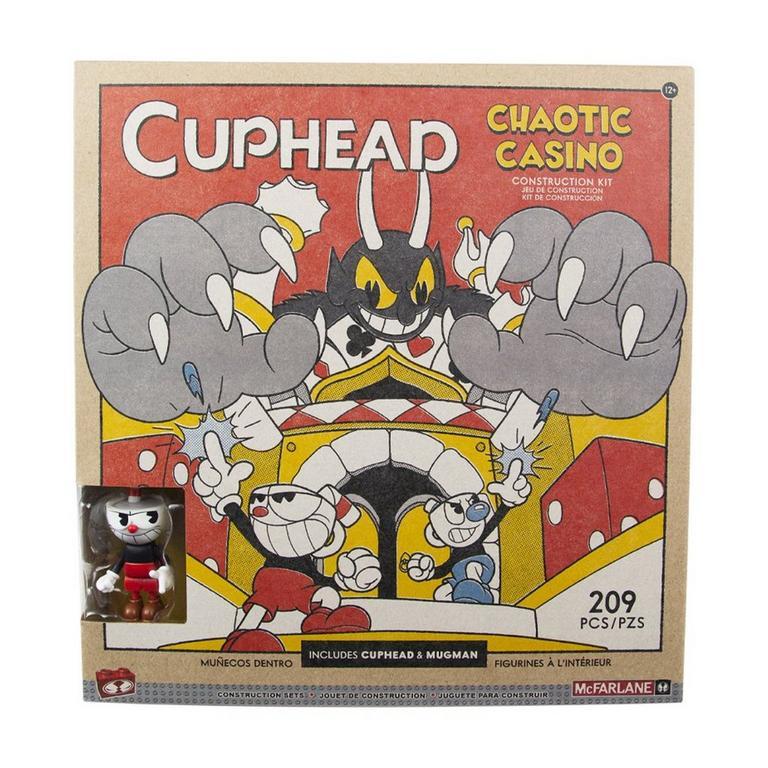 Cuphead Chaotic Casino Large Construction Set