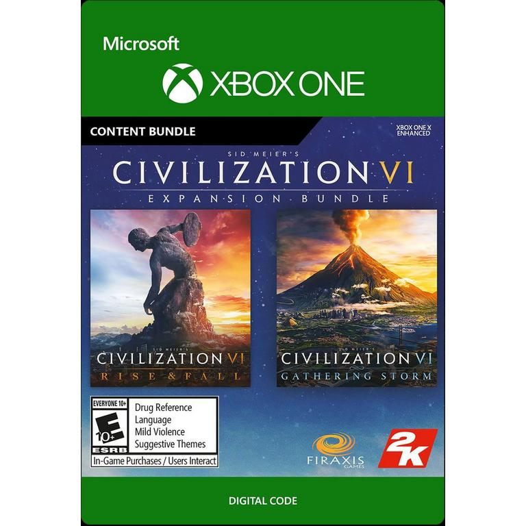 Sid Meier's Civilization VI: Rise and Fall and Gathering Storm Bundle