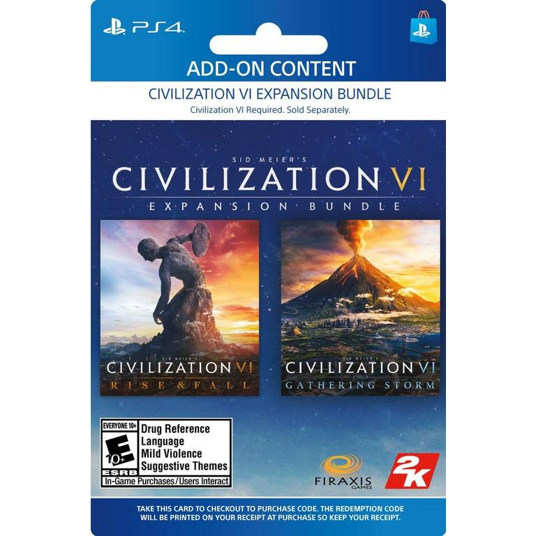 Sid Meier's Civilization VI: Expansion Bundle