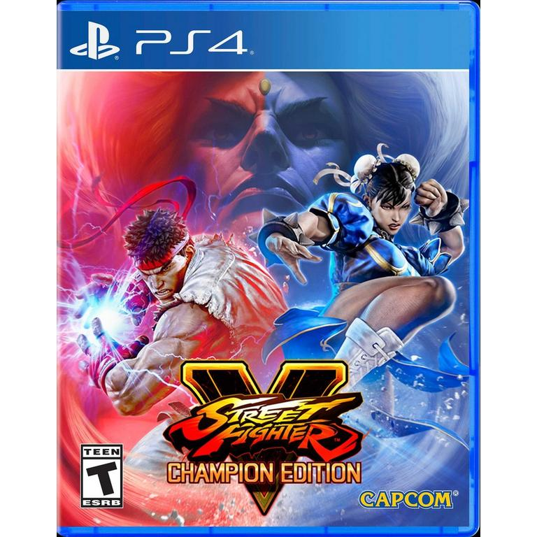 Capcom Street Fighter V: Champion Edition PS4 At GameStop Now!