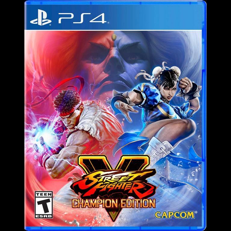 Street Fighter V Champion Edition Playstation 4 Gamestop