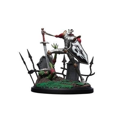 MediEvil Sir Dan Fortesque Statue