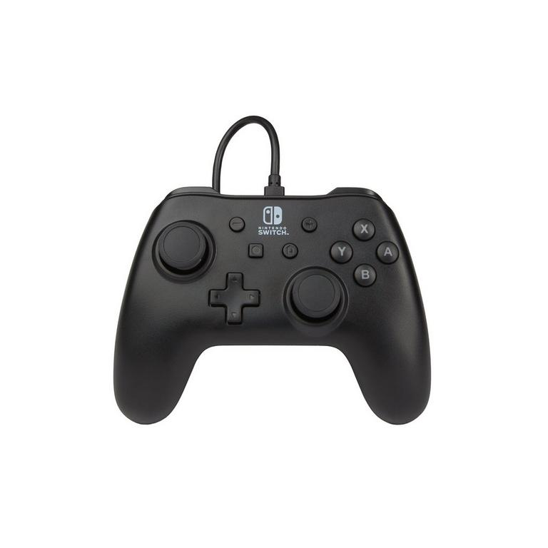 BD & A Nintendo Switch Black Wired Controller Available At GameStop Now!