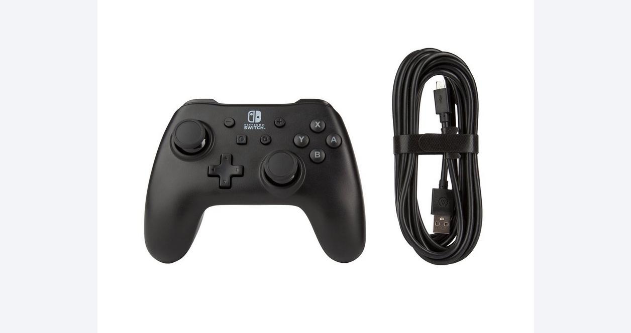 Black Wired Controller for Nintendo Switch