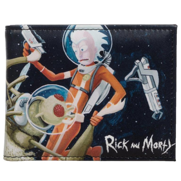Rick and Morty Space Fight Bifold Wallet
