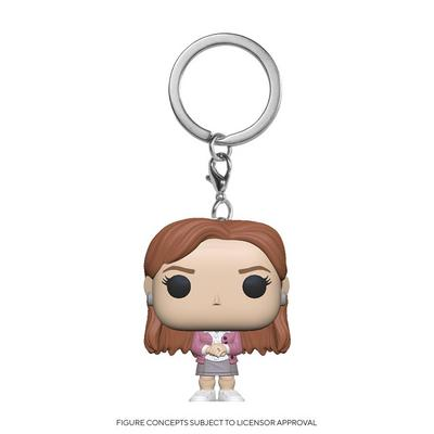 Pocket POP! Keychain: The Office Pam Beesly