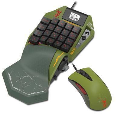 PlayStation 4 TAC Pro Type M2 DOOM Eternal Keypad and Mouse