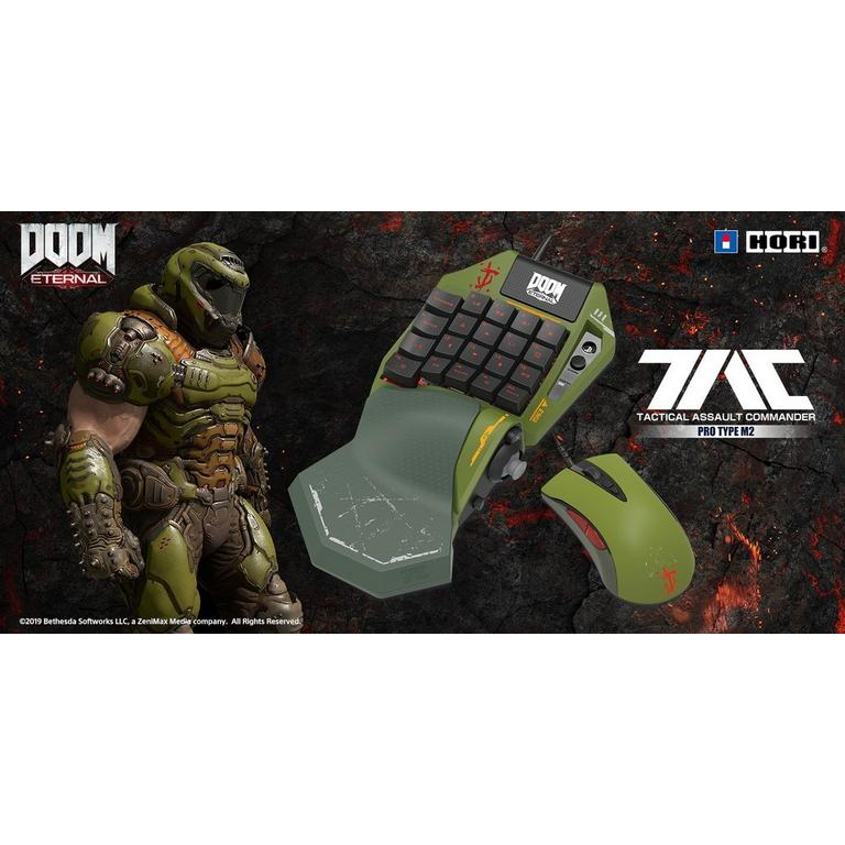 PlayStation 4 TAC Pro Type M2 DOOM Eternal Keypad and Mouse