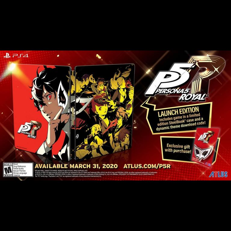 Persona 5 Royal Steel Book Launch Edition