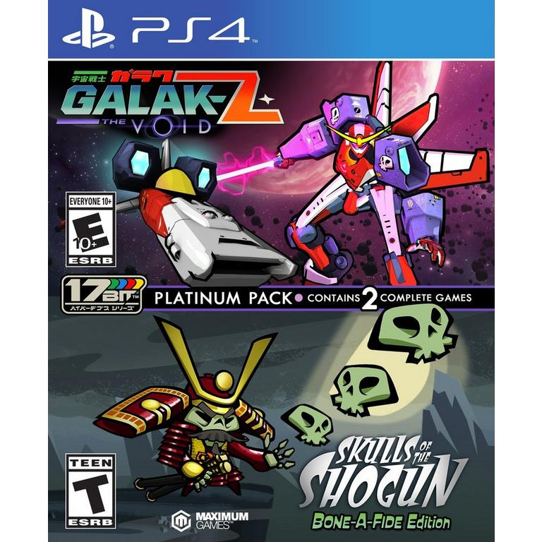 GALAK-Z: The Void and Skulls of the Shogun: Bone-A-Fide Edition Platinum Pack