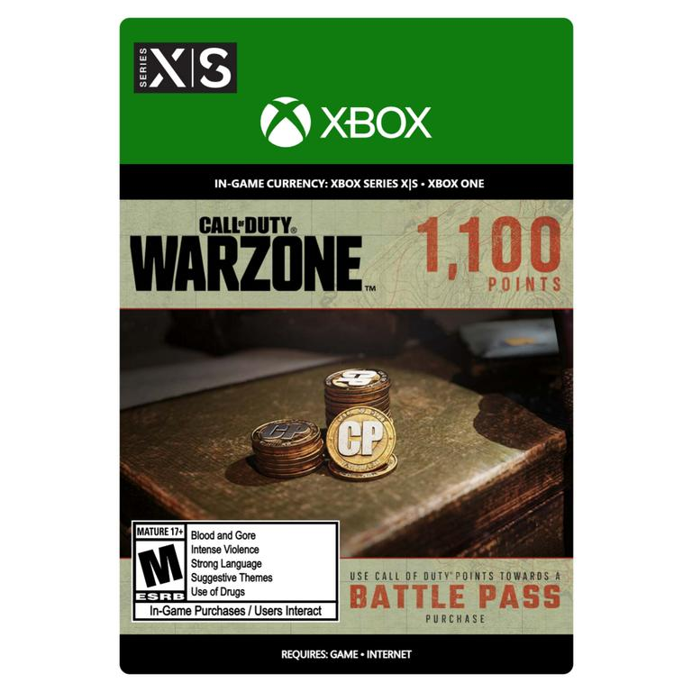 Call of Duty: Warzone 1,100 Points