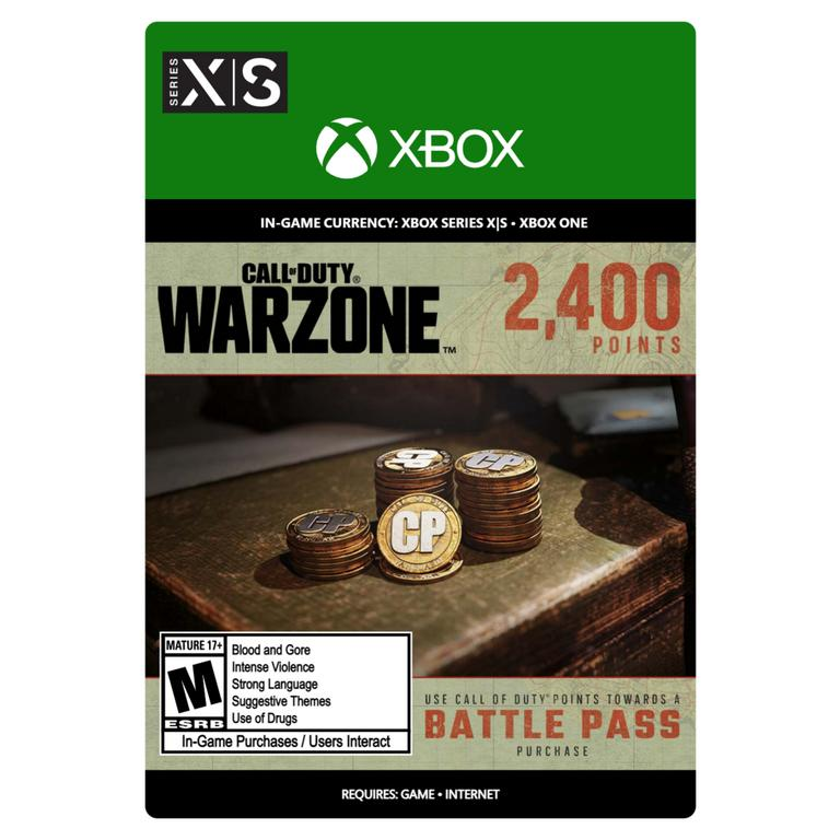 Call of Duty: Warzone 2,400 Points