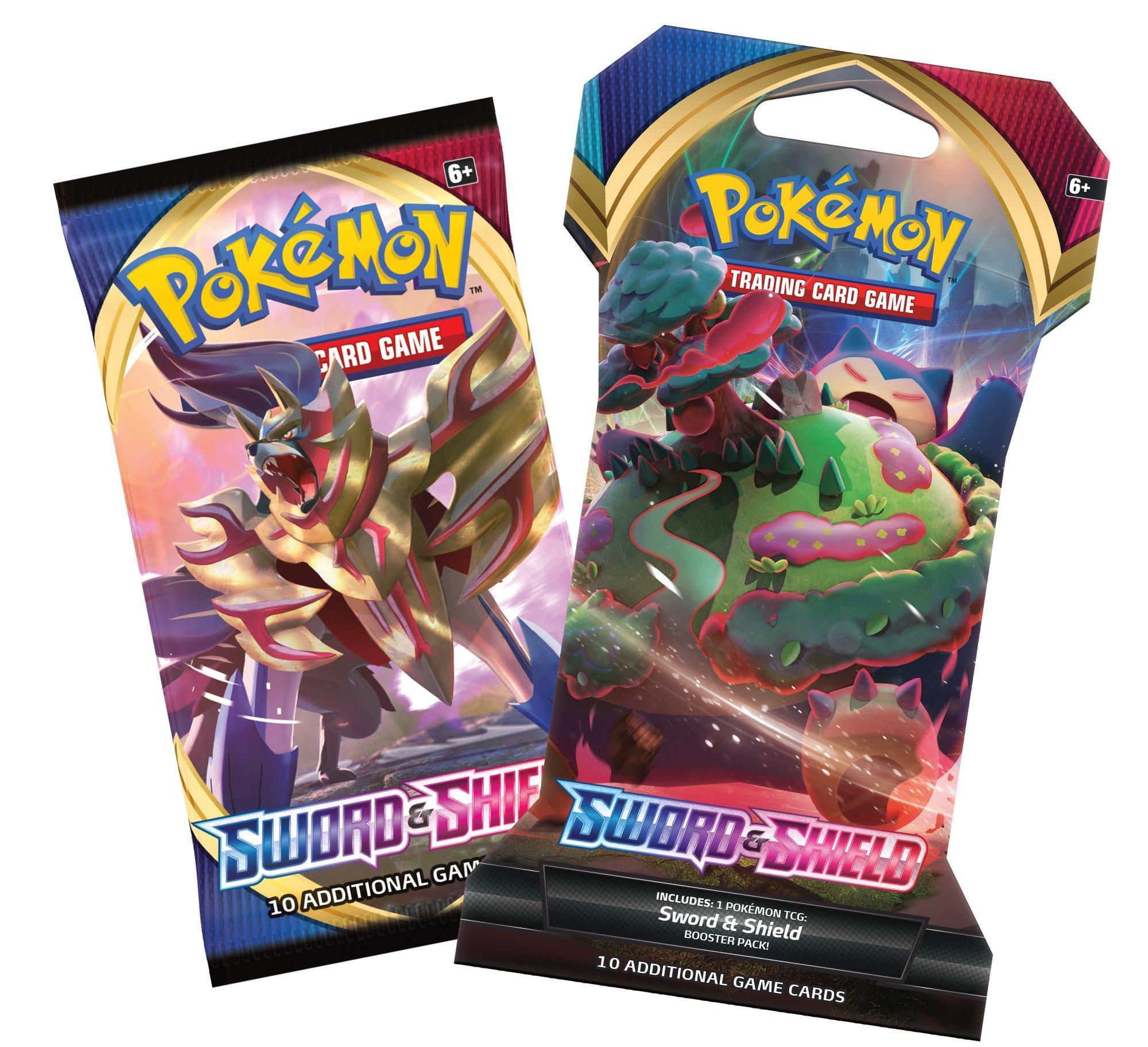 Pokemon Trading Card Game Sword And Shield Sleeved Booster Pack Gamestop