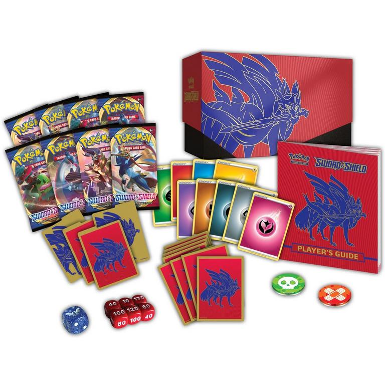 Pokemon Trading Card Game: Sword and Shield Elite Trainer Box