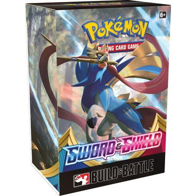 Pokemon Trading Card Game: Sword and Shield Build and Battle Box