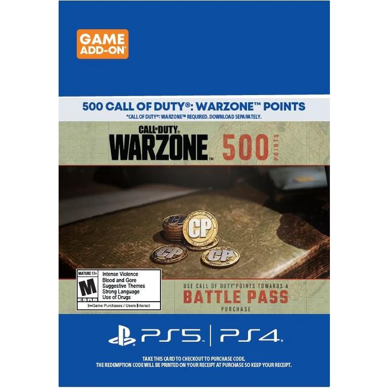 Call of Duty: Warzone 500 Points