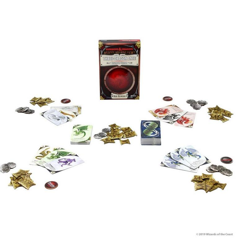 Dungeons and Dragons Three-Dragon Ante: Legendary Edition Board Game