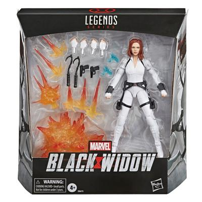 Marvel Legends Series Black Widow White Costume Action Figure