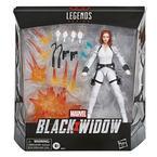 Marvel Legends Series Black Widow White Costume Action Figure