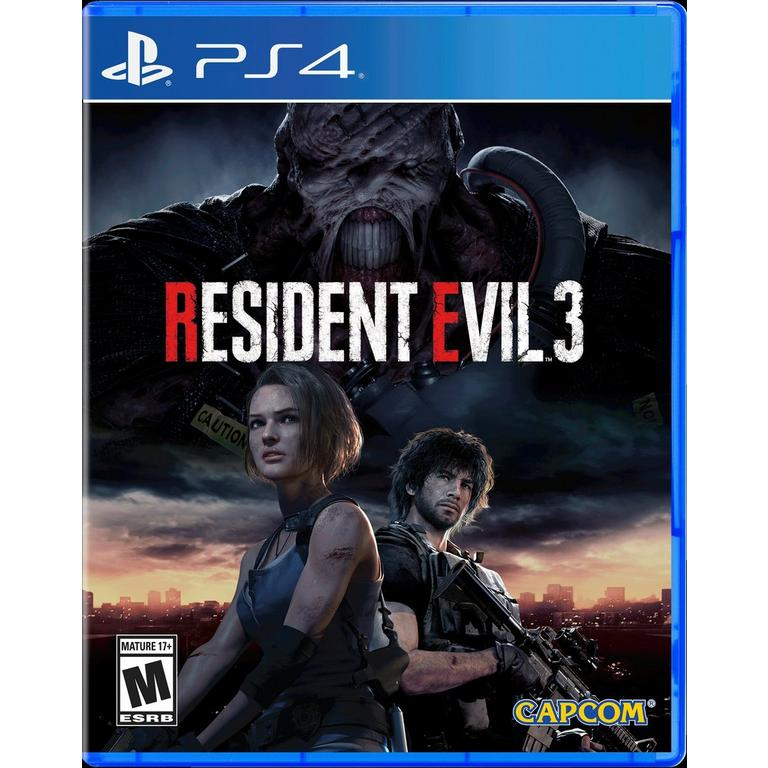 Resident Evil 3 Remake Playstation 4 Gamestop
