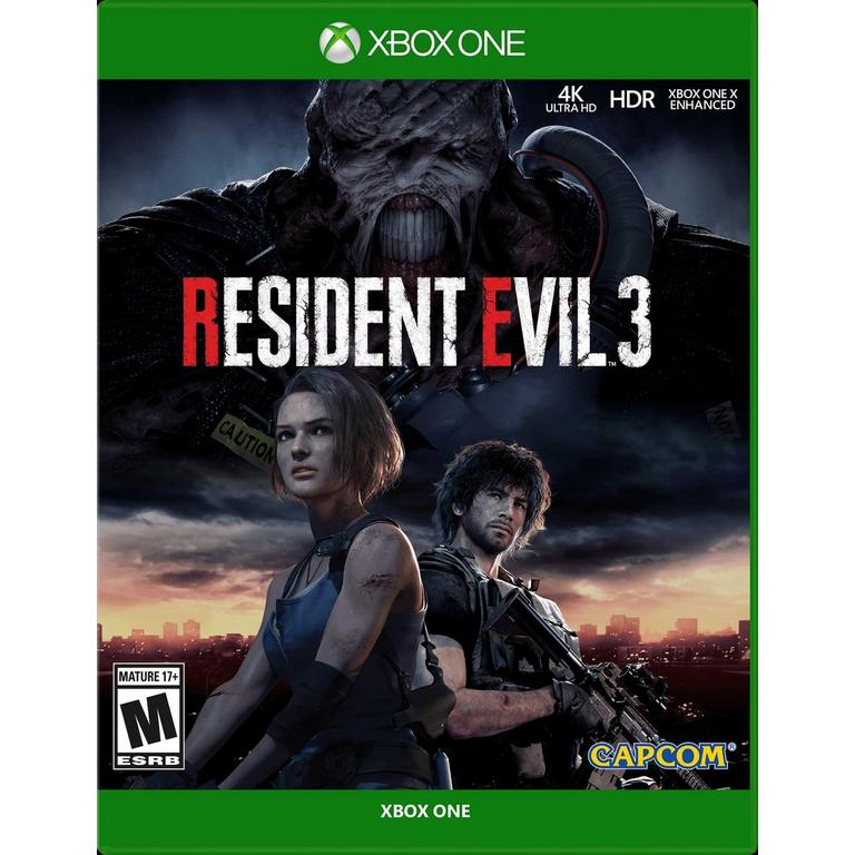 Capcom Resident Evil 3 Remake Xbox One Pre-Order At GameStop Now!