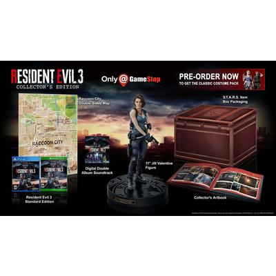 Resident Evil 3 Remake Collector's Edition Only at GameStop
