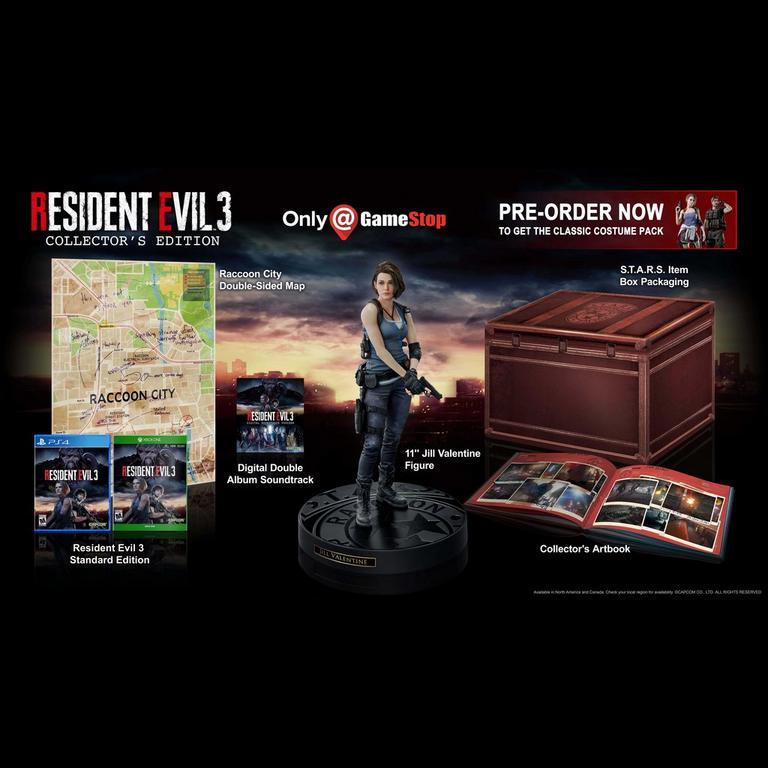 Resident Evil 3 Remake Collector S Edition Only At Gamestop Xbox