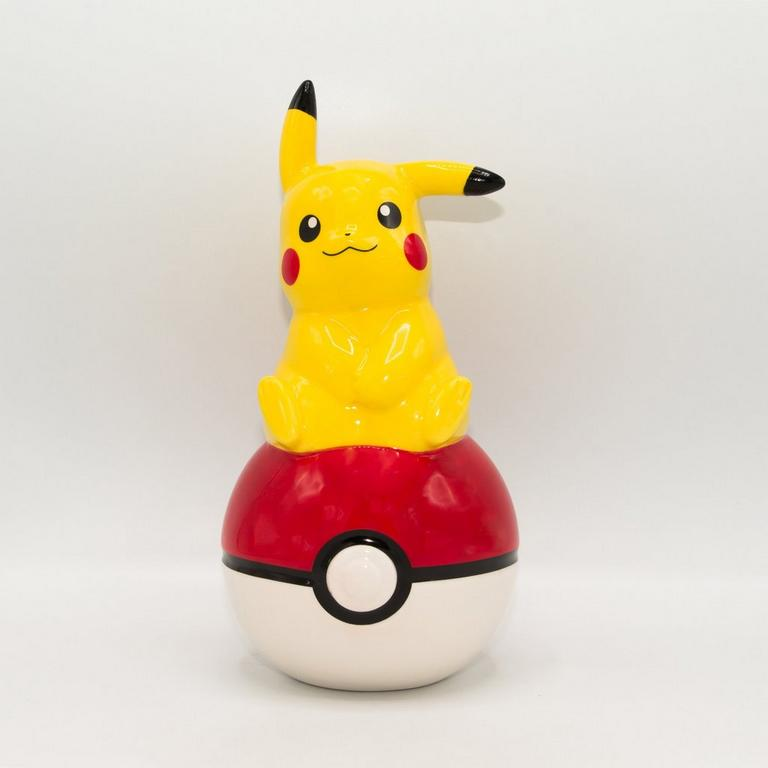 Pokemon Pikachu 3D Ceramic Bank
