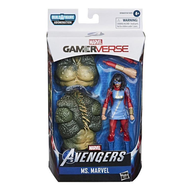 Marvel Legends Series Marvel's Avengers Ms. Marvel Gamerverse Action Figure