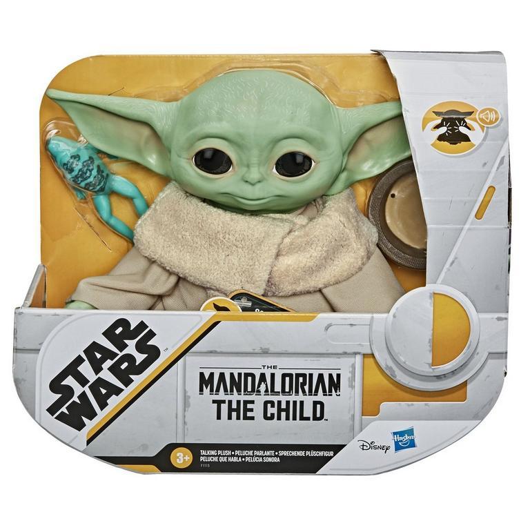 Star Wars: The Mandalorian The Child Talking Plush