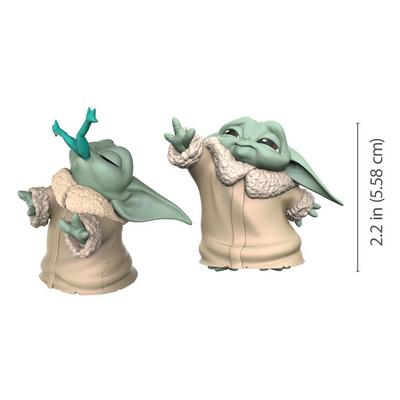 Star Wars: The Mandalorian The Child Frog Snack and Force Moment The Bounty Collection Figure 2 Pack