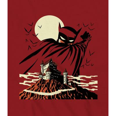 Batman Cliffside Manor Red T-Shirt
