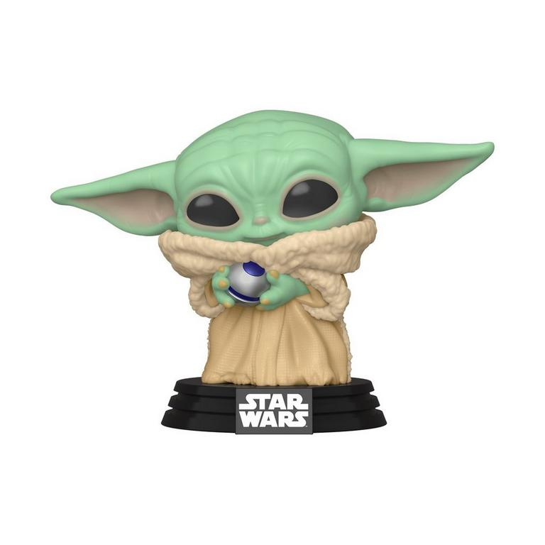 Funko POP! Star Wars: The Mandalorian The Child with Control Knob Only at GameStop