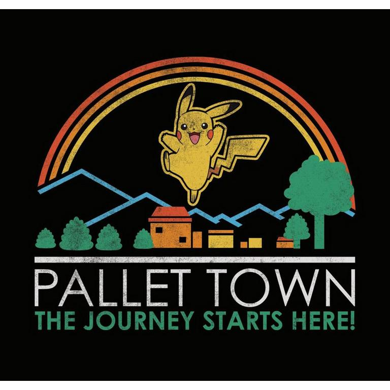 Pokemon Pallet Town Tourist T-Shirt
