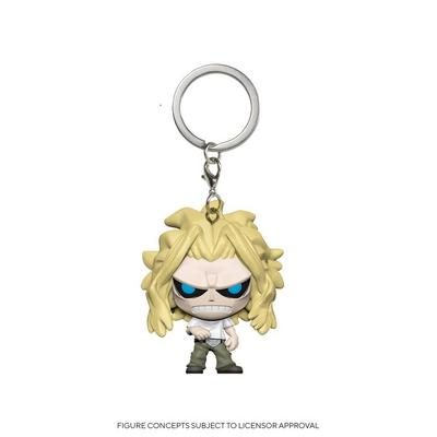Pocket POP! Keychain: My Hero Academia All Might Weakened State