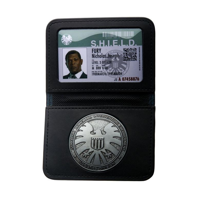 Captain Marvel S.H.I.E.L.D Badge Wallet