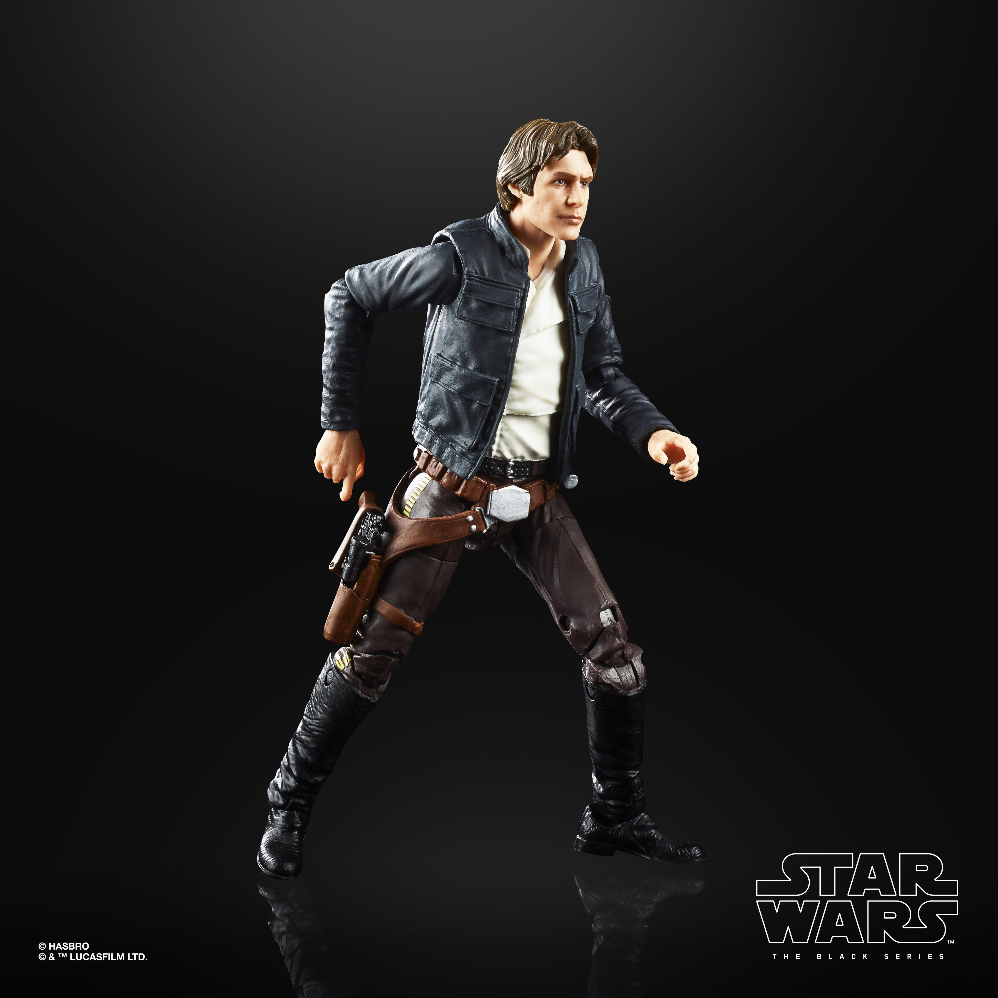 Star Wars Episode V The Empire Strikes Back 40th Anniversary Han Solo Bespin Action Figure Gamestop