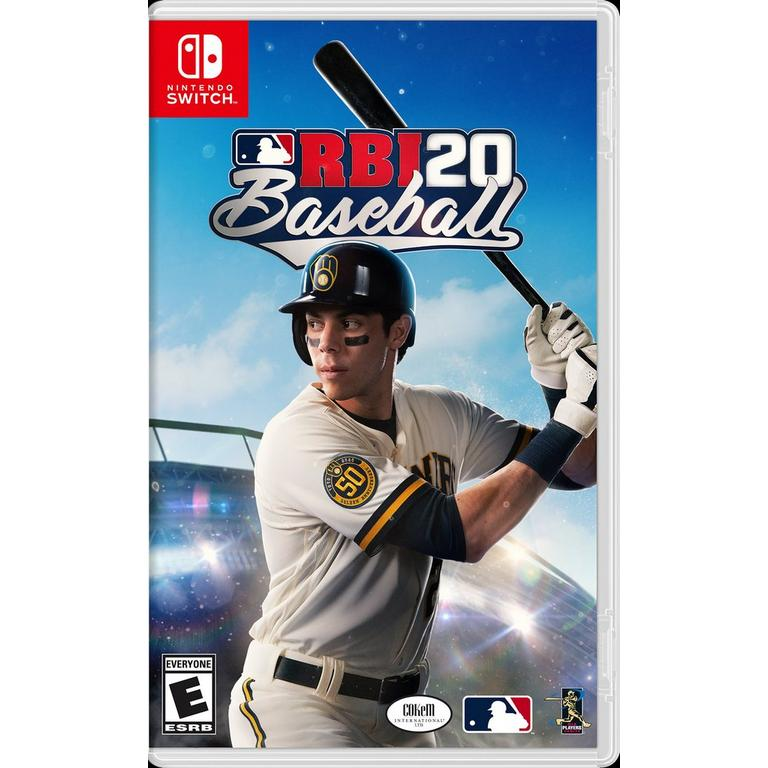 MLB RBI Baseball 20 Nintendo Switch Pre-Order At GameStop Now!